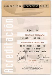 Diploma Llongueras Academy